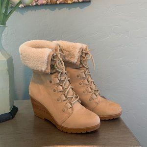 Sorel boots - Suede wedge
